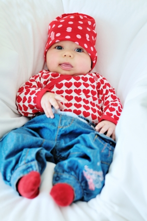 cutie: cutie two months old  fashion baby