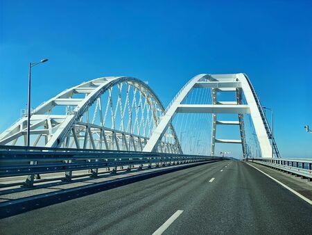 The navigable arch of the Crimean bridge