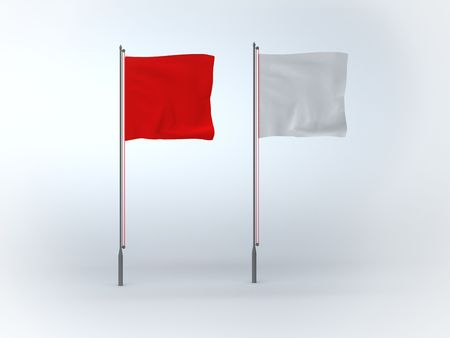 excitement: Flags