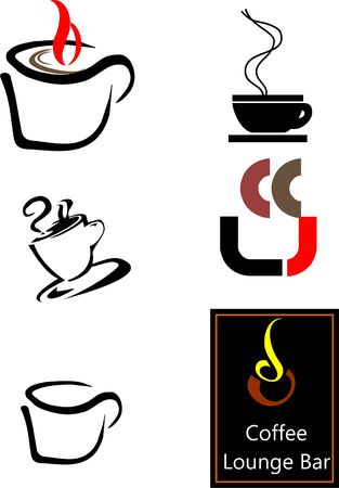 Coffee Logo - Cups and more Vector