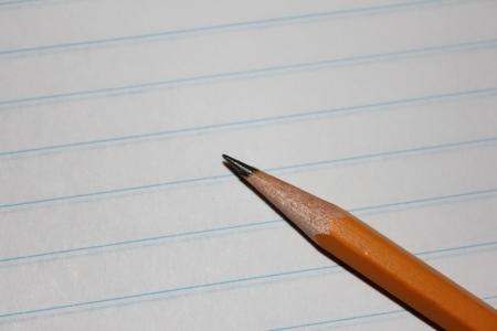 Notebook Papier Met Potlood