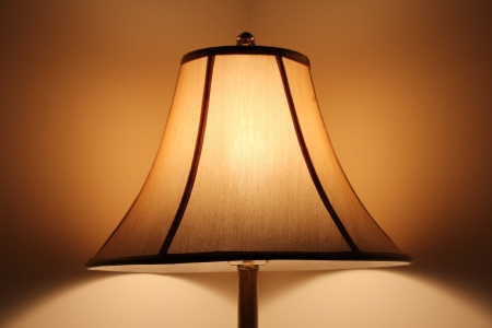 Soft Glowing Lampshade photo