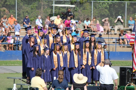 graduation ceremony: Alexander County, Taylorsville, North Carolina, USA - June 09, 2012 - Alexander Central High School Graduation Ceremony (2012)