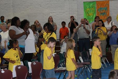 Alexander County, Stony Point, North Carolina, USA - June 08, 2012 - Stony Point Elementary School Kindergarten Graduation Ceremony (2012)