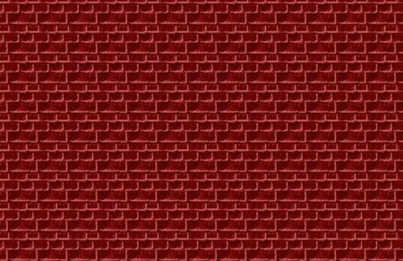 Red Brick Illustration Banco de Imagens