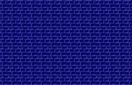 Blue Brick Illustration Banco de Imagens