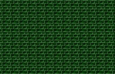 Green Brick Illustration