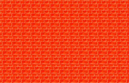 Orange Brick Illustration Stock Photo