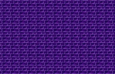 Purple Brick Illustration