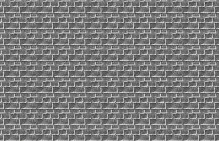 Gray Brick Illustration Stock Photo