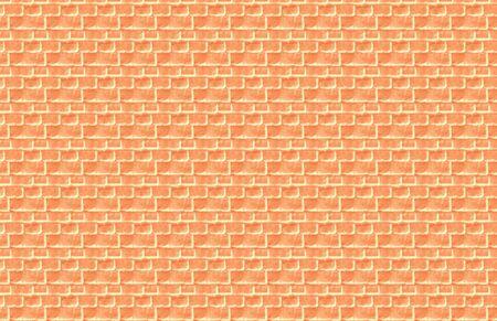 Peach Brick Illustration Stock Photo