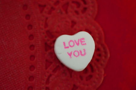 Valentine s Day Candy Heart Love You