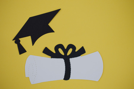 cut outs: Graduation day paper cut outs