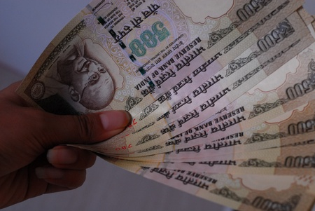 Indian rupees photo