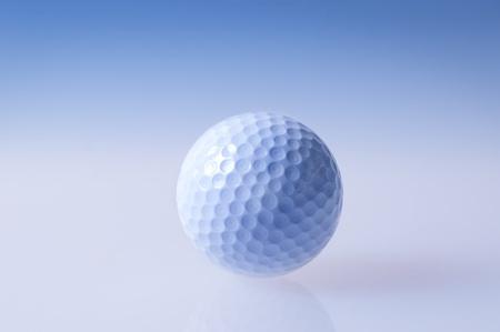 centered: Golf ball centered free Stock Photo
