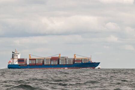 Container ship Editorial