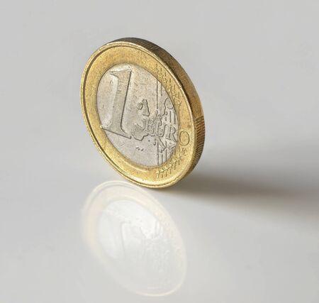 Euro met reflectie
