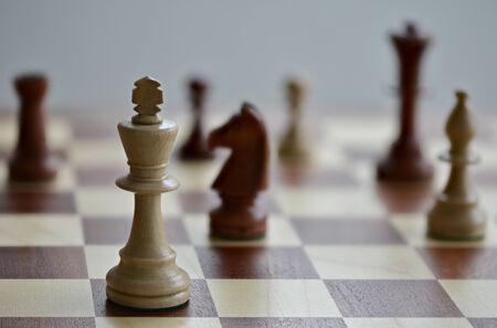 Chess game Banco de Imagens