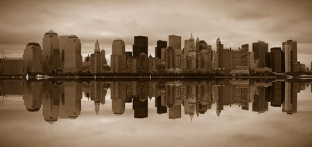 Manhattan panoramic Stock Photo - 783673