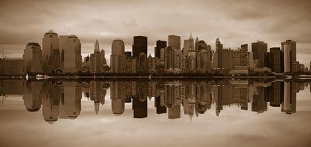 Manhattan panoramic Stock Photo - 783673