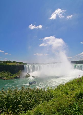 Canadian Horseshoe Falls- Niagara Falls photo