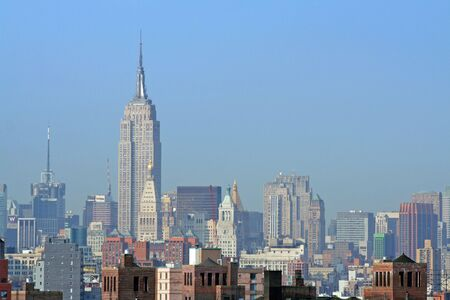 Midtown Manhattan and Empire State Building Stock Photo - 814275