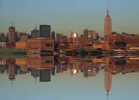 Midtown Manhattan at sunset Stock Photo - 814271