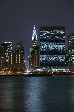 midtown: Midtown Manhattan at night Stock Photo