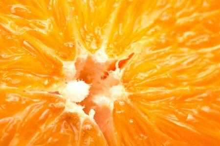 Juicy orange close-up image Stock Photo - 8422772