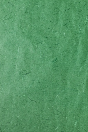 Fine green mulberry paper texture for background photo