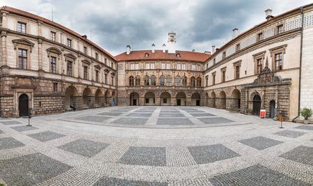 The Castle Nelahozeves near Prague in Czech Republic Editorial
