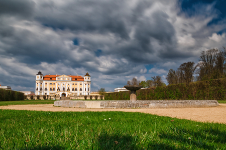 Chateau Milotice is called pearl of South Moravia region