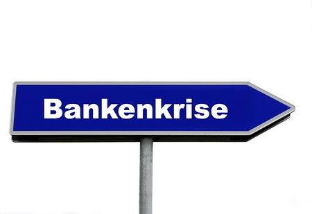 Banking crisis Banco de Imagens