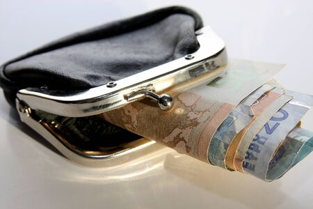 geld portemonnee