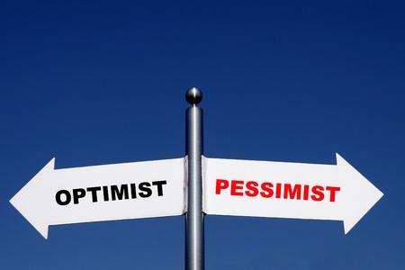 pessimist: optimist and pessimist