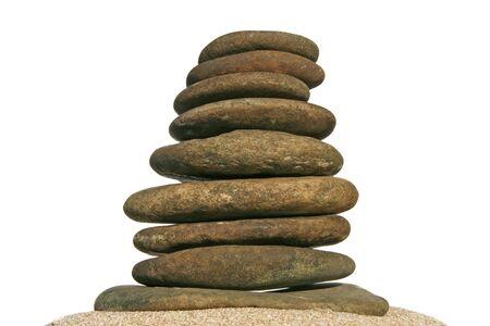 rock pile: rock pile Stock Photo