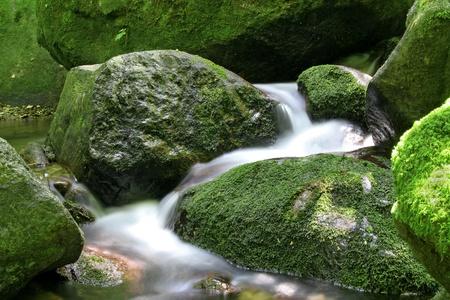 cours d eau: cascade Banque d'images