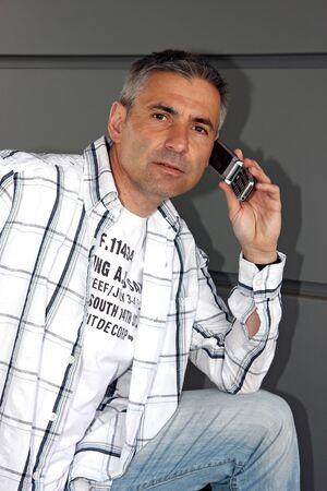 telephone call: telephone call
