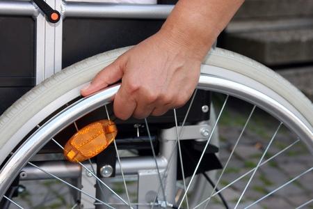 social outcast: In wheelchair