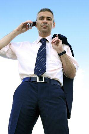 blau: businessman called