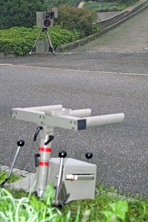 photoelectric: light barrier Stock Photo