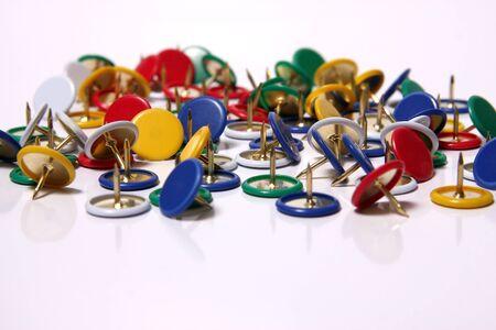 drawing pins: drawing pins Stock Photo