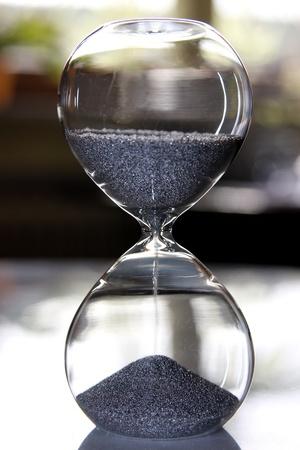 sand glass Stock Photo