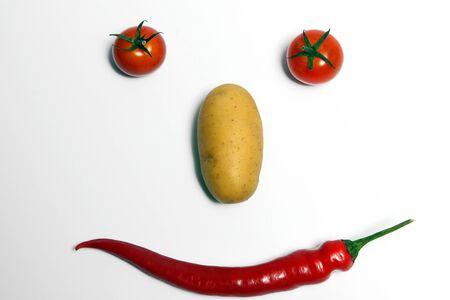 Vegetable Facial Stock Photo - 13869171