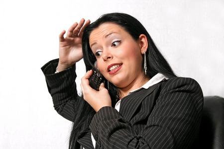 telephoned Sekretärin