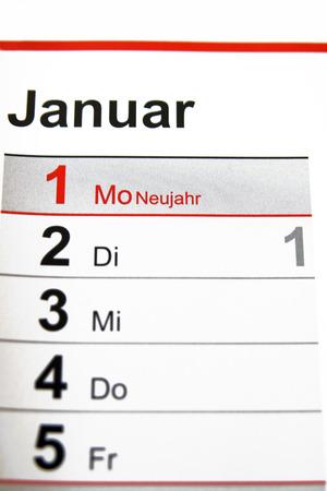 New year Standard-Bild
