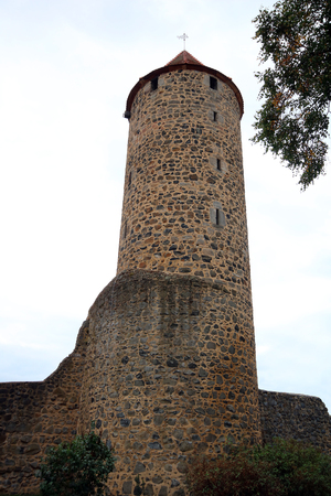 watch tower of Fritzlar 免版税图像