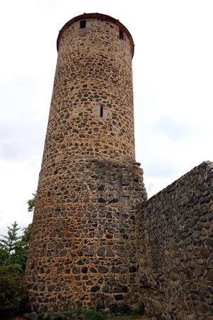 watch tower of Fritzlar Stockfoto