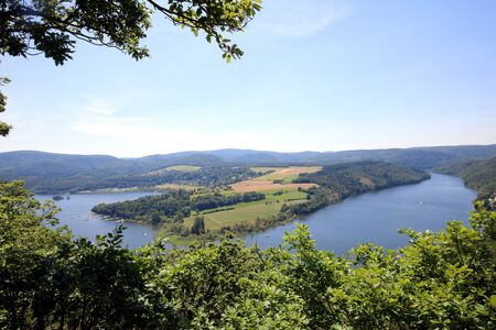 View of Lake Edersee