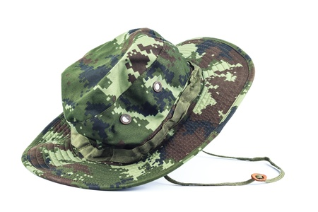 Military style hat. photo